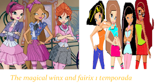 The magical winx and fairix