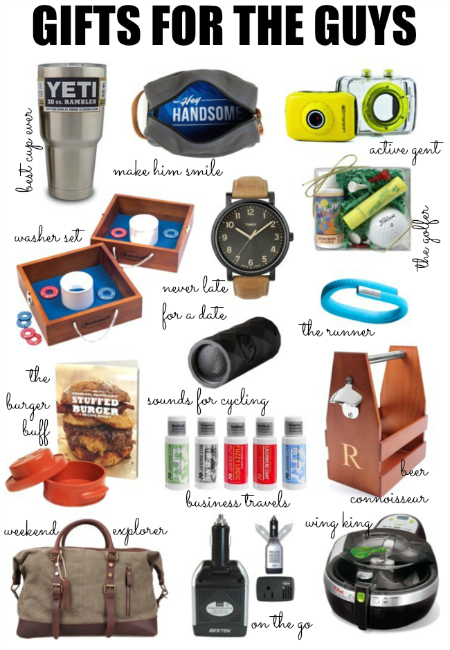 2014 Holiday Gift Guide for Men Christmas Presents for Him