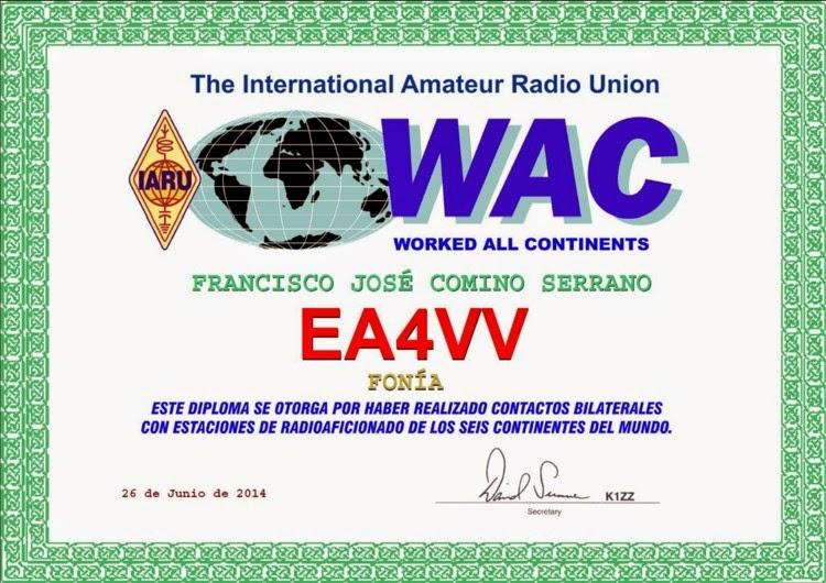 WAC BASICO 6 CONTINENTES