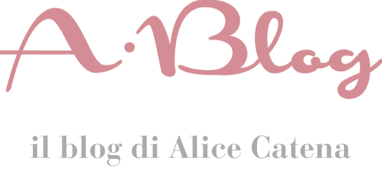 A-Blog il blog di Alice Catena