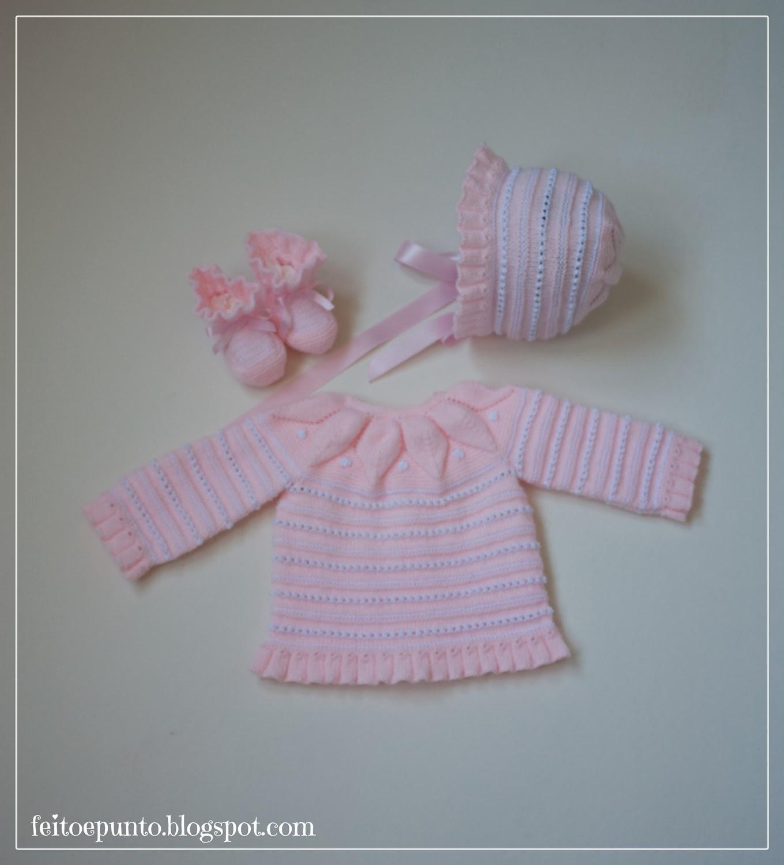 Primera puesta rosa para bebé