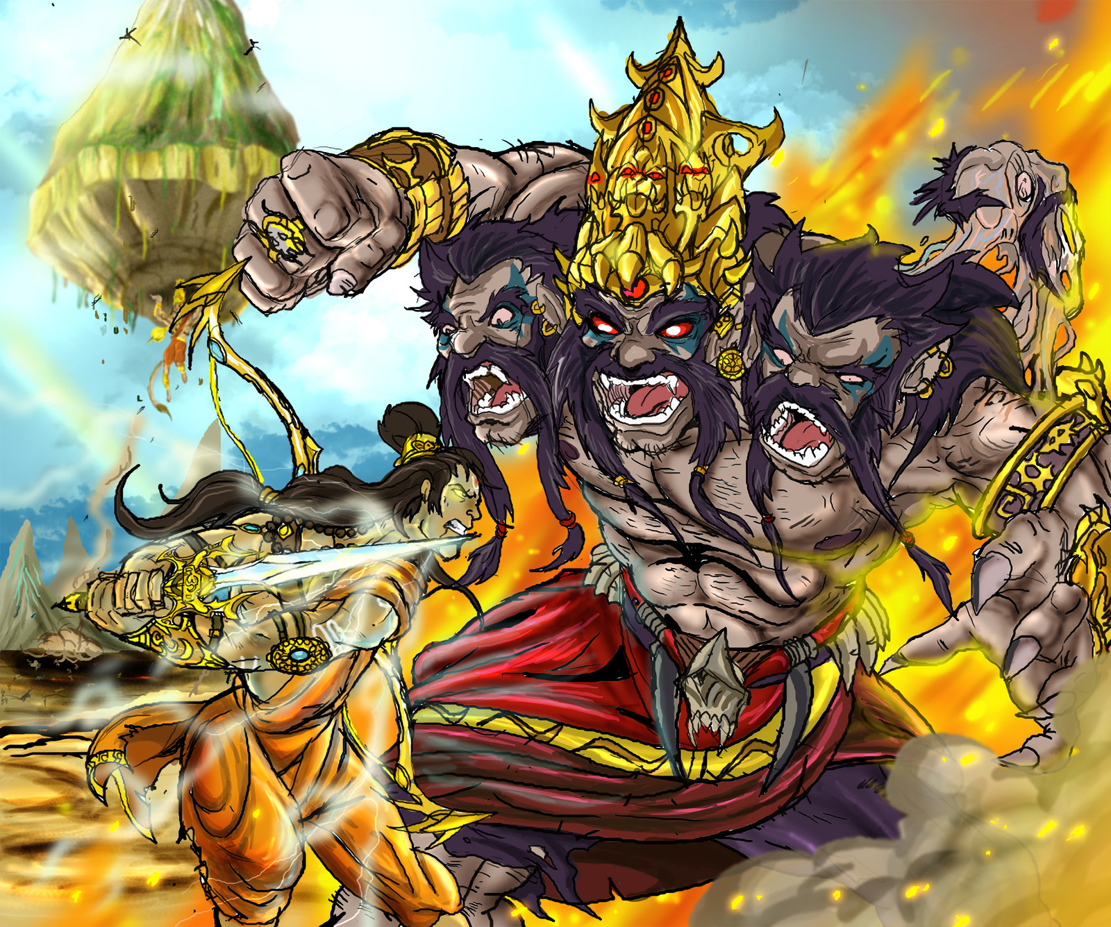 rama from ramayana Need help with 12 rama and ravana in battle in r k narayan's the ramayana check out our revolutionary side-by-side summary and analysis.
