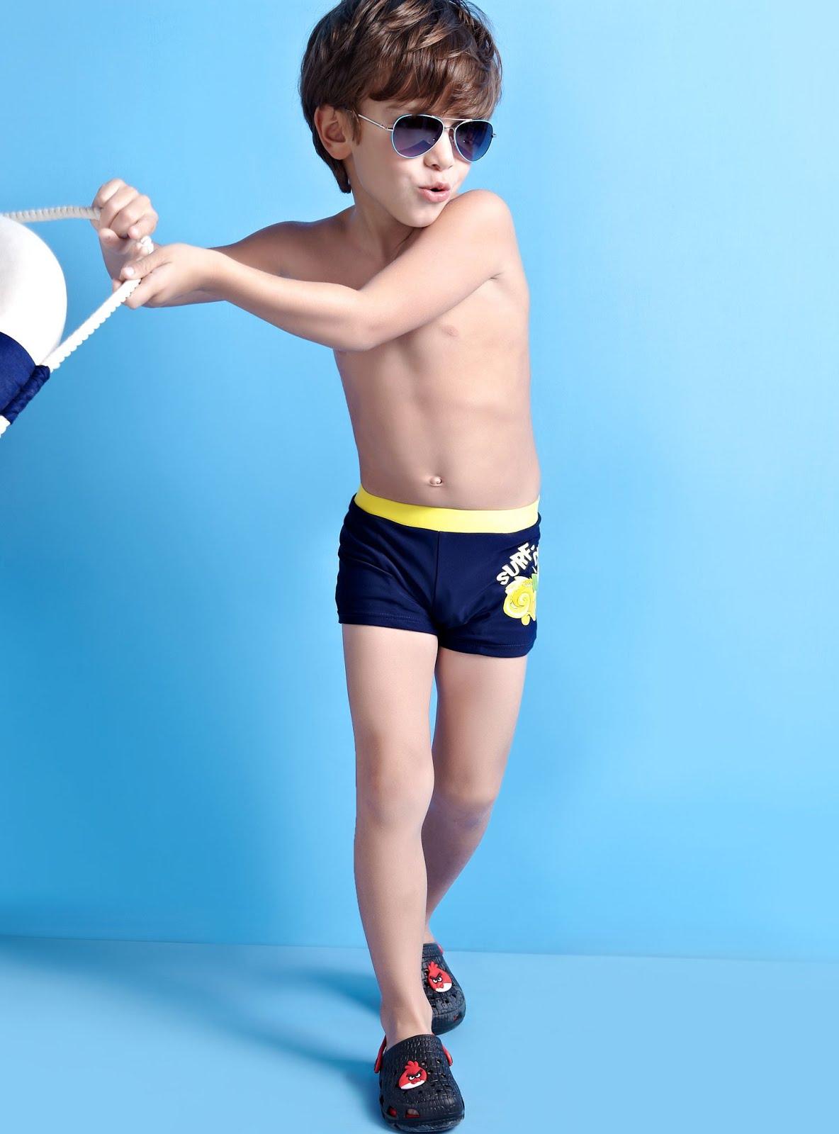 Lenceria De Baño Para Ninos:los elásticos que algunos trajes de baño para niños llevan
