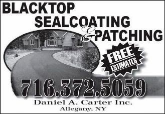 Blacktop Sealcoating & Patching--Free Estimates