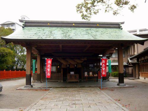 十日恵比須神社拝殿