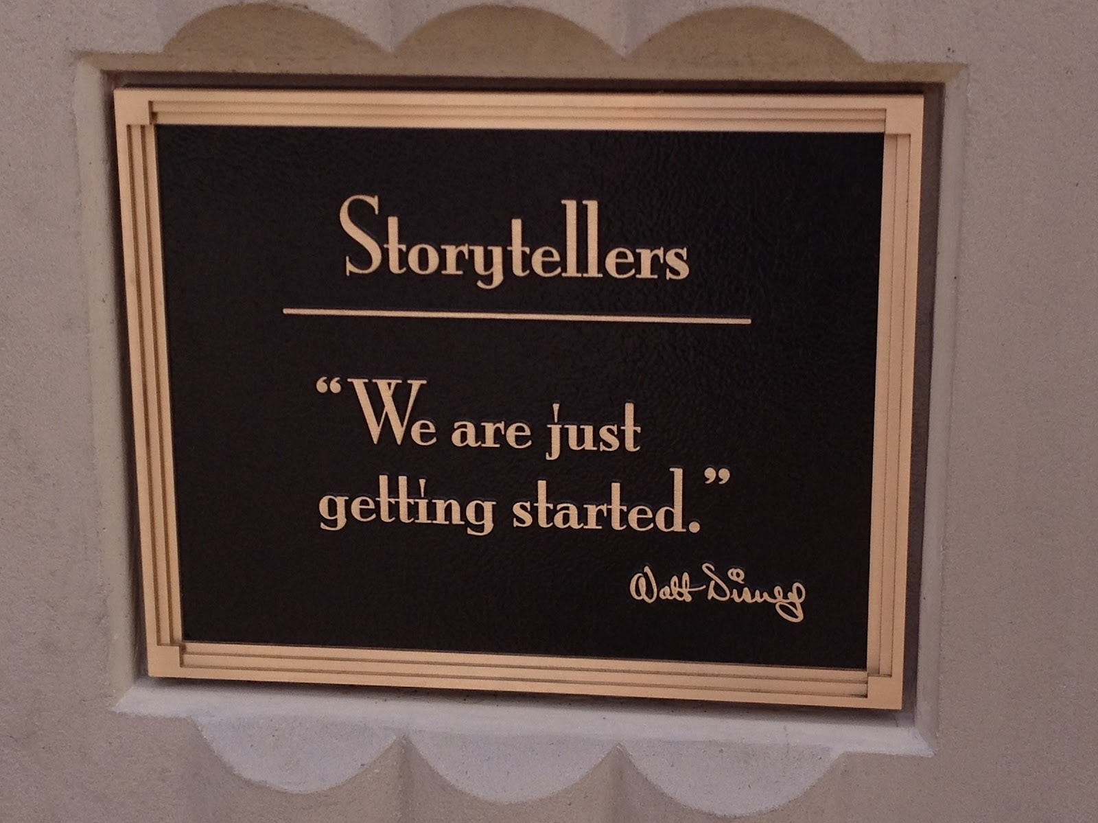 Storytellers Statue Plaque 