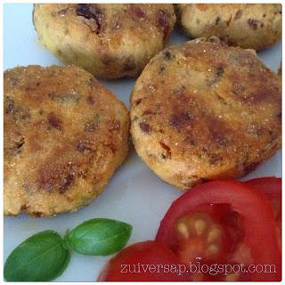 Italiaanse tofuburgertjes