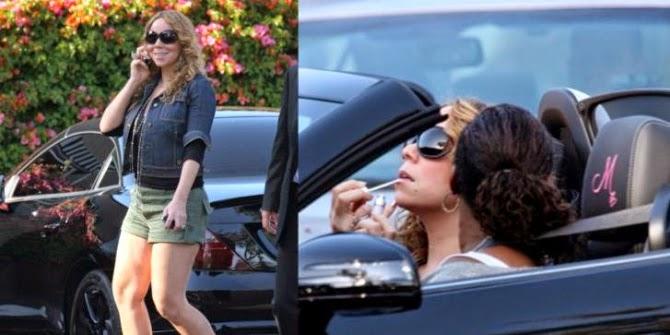 Mariah Carey - Mercedes Benz SLK