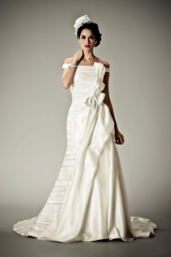 Vintage Glam Wedding Dress - Weddings Gallery