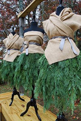 """lisa mende design: spreading holiday cheer! my """"fir ladies""""joe"""