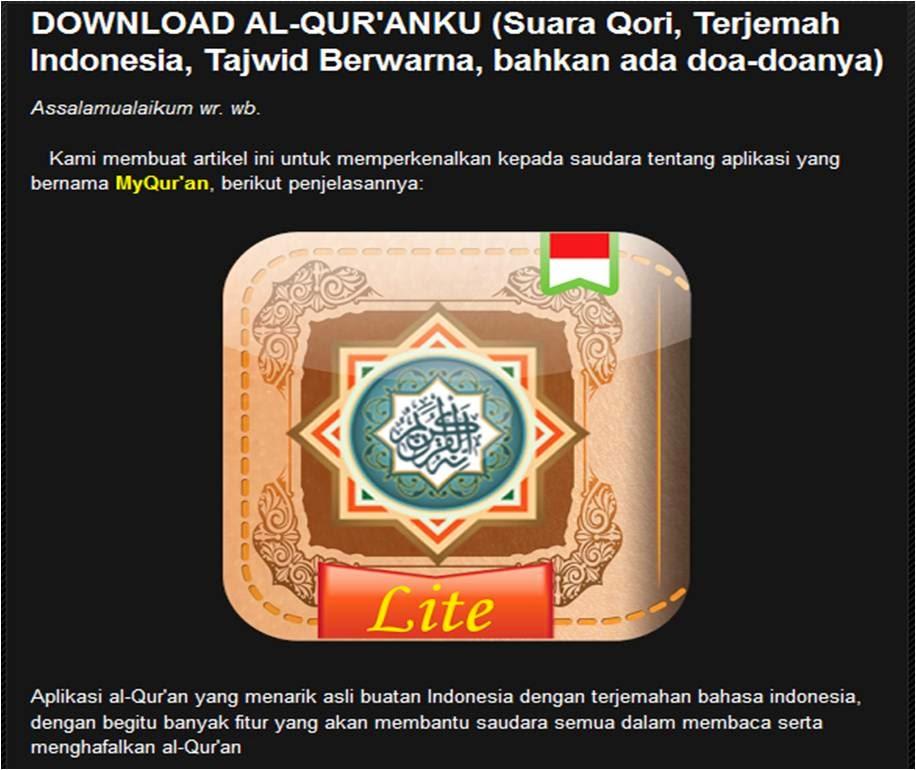 Download Software Al Qur'an