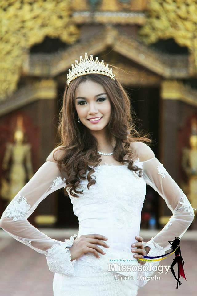 Miss Globe Myanmar 2014 Jue San Thar trained in Philippine
