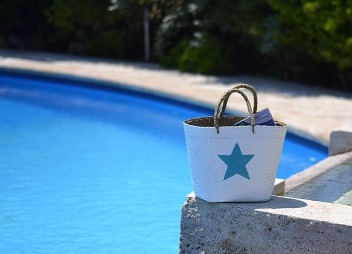 borsa da spiaggia paglia