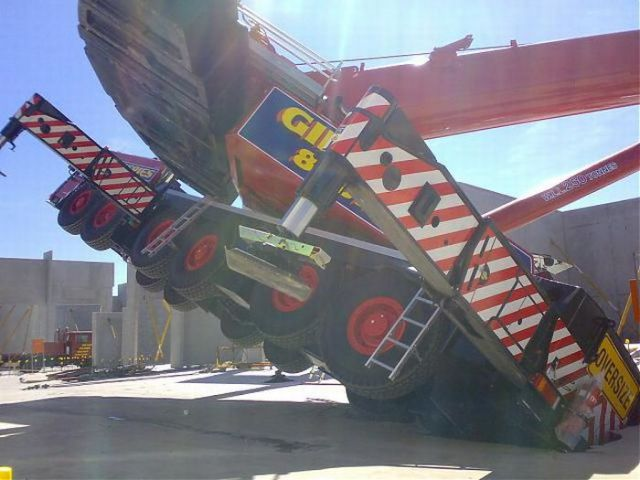 Overhead Crane Failure : Waiting bd million crane fail in australia