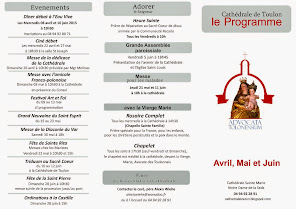 Programme Avril - Juin