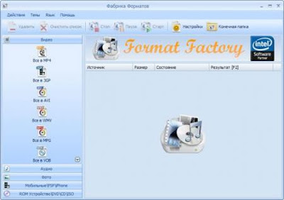 Format Factory 3.0.1