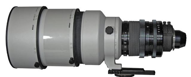 supersnelle 300 mm lens Nikon