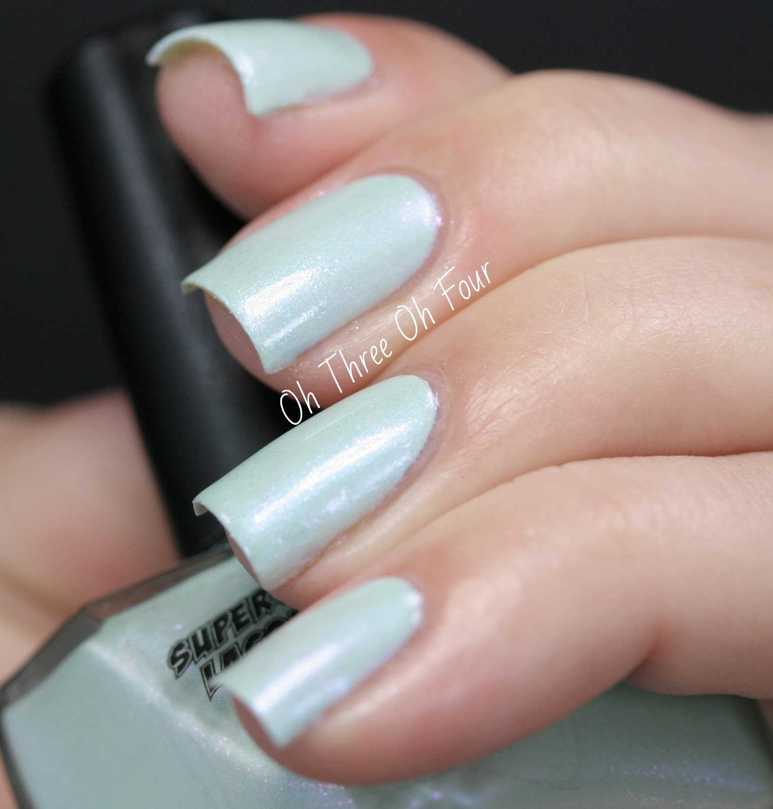 SuperChic Lacquer Figmint Of My Reality Swatch