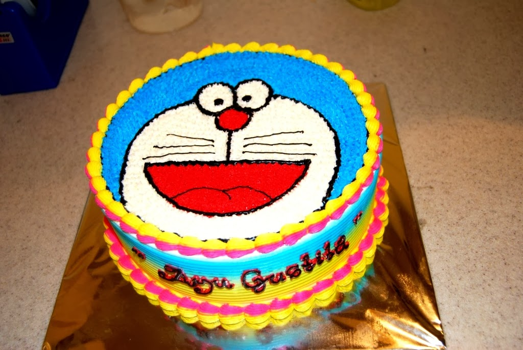 Sugarbell Bakery And Cafe Birthday Cake Doraemon
