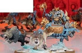 Nouveau Space Wolves Logan-chariot