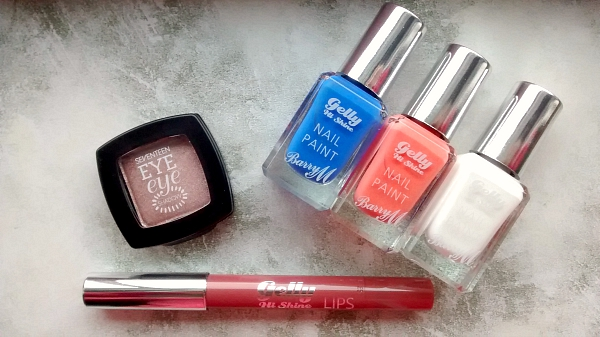 BarryM Nail Paint and Lip Gelly and SEVENTEEN Eyeshadow
