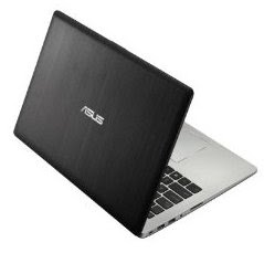 side appearance ASUS VivoBook S400CA-DH51T