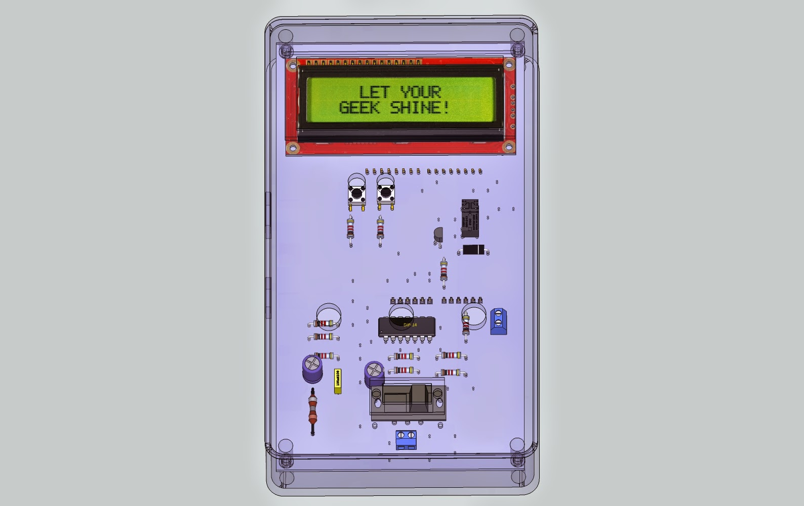 The Answer Is 42 Arduino Lc Meter Shield Inductance Circuit Electronic Projects Update A Lot Of People Have Been Building This Project Which Great But Are Sometimes Struggling To Check Things Working As Intended