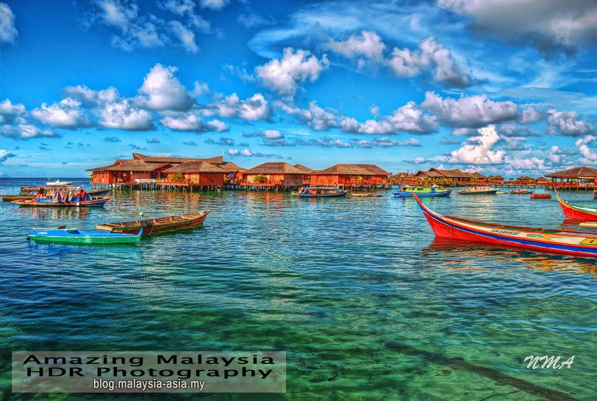 Mabul Island Sabah HDR Photography