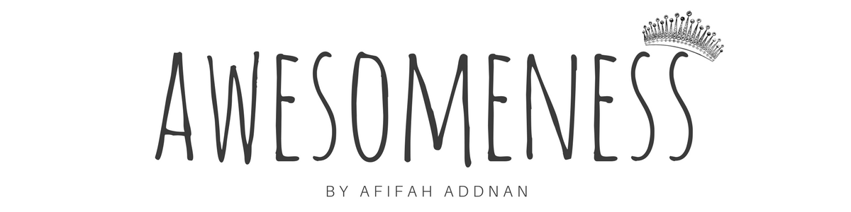 awesomeness by afifahaddnan