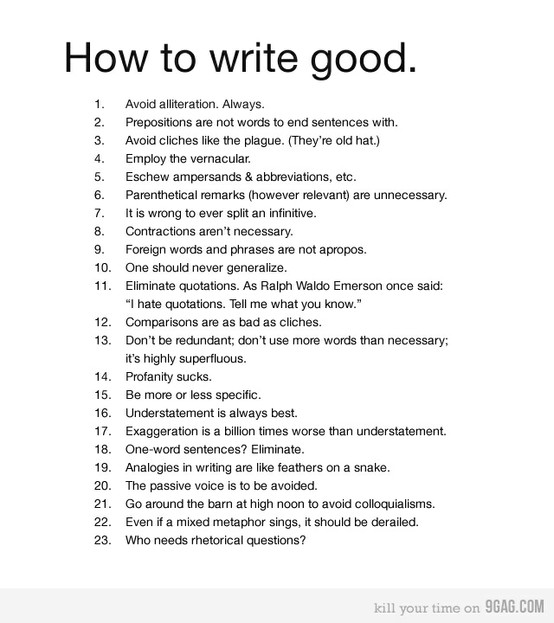 How to write a good love scene