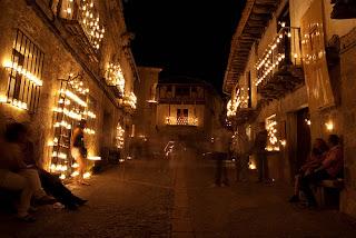 noche de las velas, Pedraza, Segovia, pueblo con encanto, originalia, originalia.es