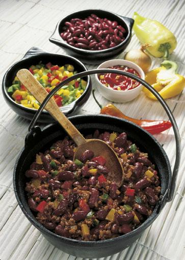 Cholesterinarme Rezepte Chili Con Carne Fit Gesund