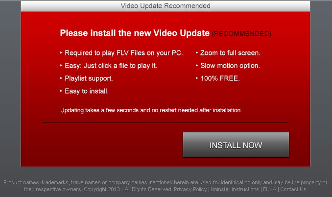 Video-updater.com pop-ups