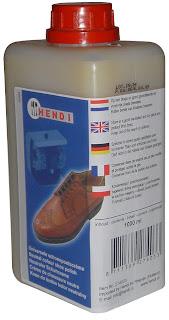 Solutie pentru lustruit pantofii Culoare neutra, pentru lustruire pantofilor pentru aparaturile de lustruit pantofi