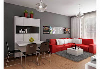 Small Apartment Design & Interior Decorating Ideas