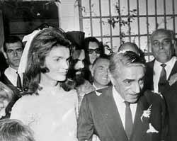 Aristotle Onassis dan Jackie Kennedy