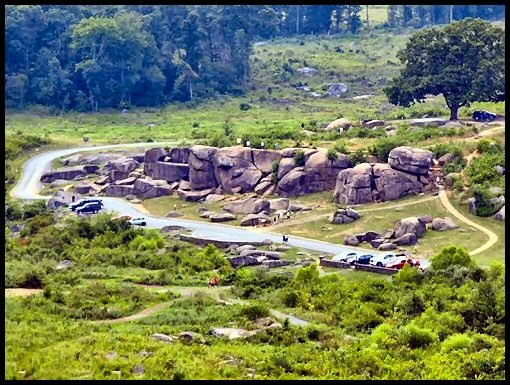 Devil's Den as seen from Little Round Top