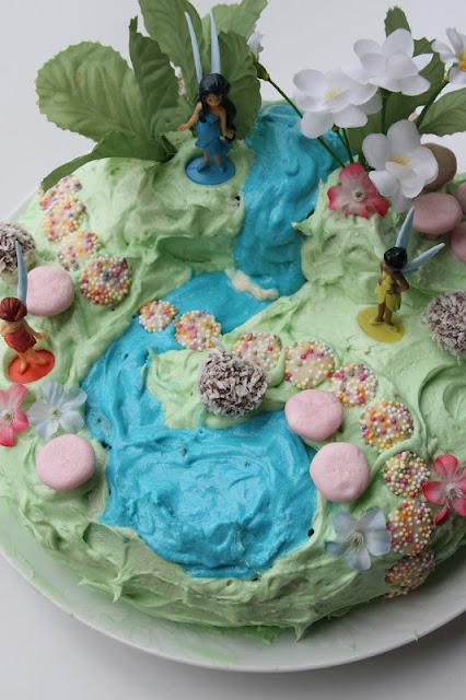 garden fairy cakes