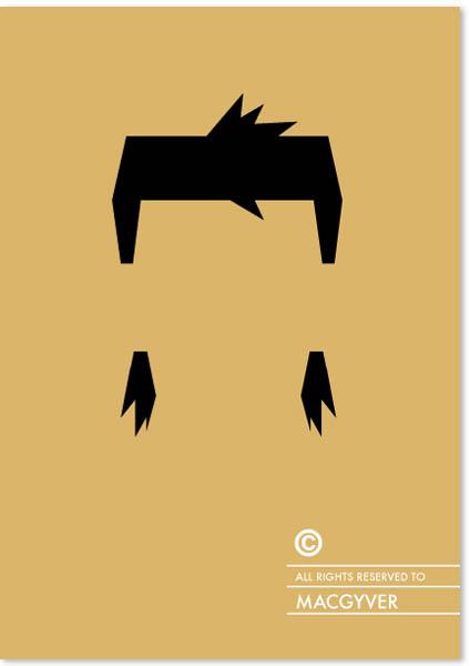 Penteados com copyright - MacGyver
