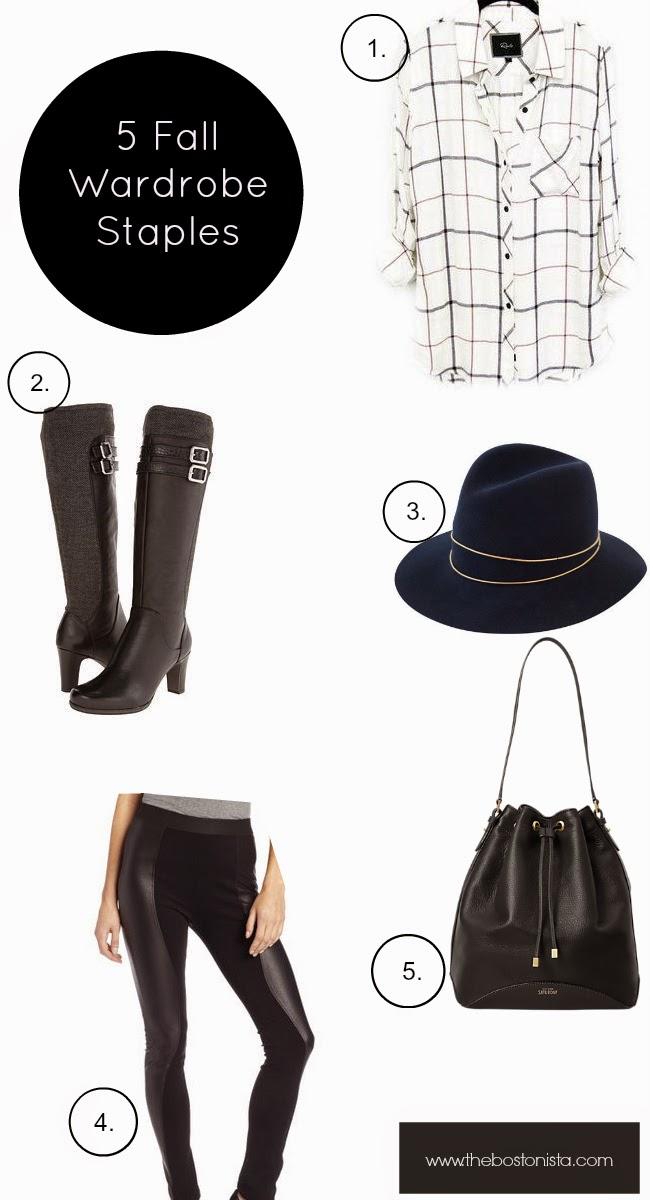 Kate Spade, 5 Fall Wardrobe Staples, Fall Wardrobe Staples, Wardrobe Essentials, Fall Essentials, 5 Fall Closet Must Haves, Fall 2014, Wardrobe Must Haves, Fall Must Haves