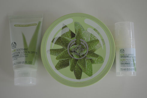 The Body Shop Aloe Skin Care Review -- Part 2 | seriously-lovely.blogspot.com