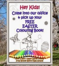 Free Easter colouring books at Bonnie Byford's