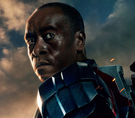 Cartel de  quot Iron Man 3 quot  con Don Cheadle como Iron PatriotDon Cheadle Iron Man 3