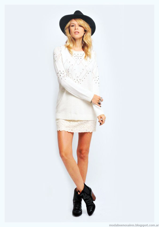 Sweaters moda invierno 2015 Zhoue.