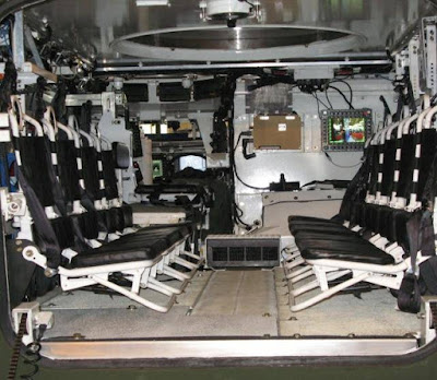 Vehicle Interior with MCT30 Turret Integrated