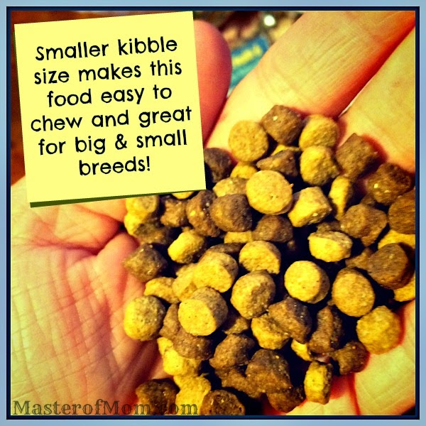 Petbrosia dog food kibble size