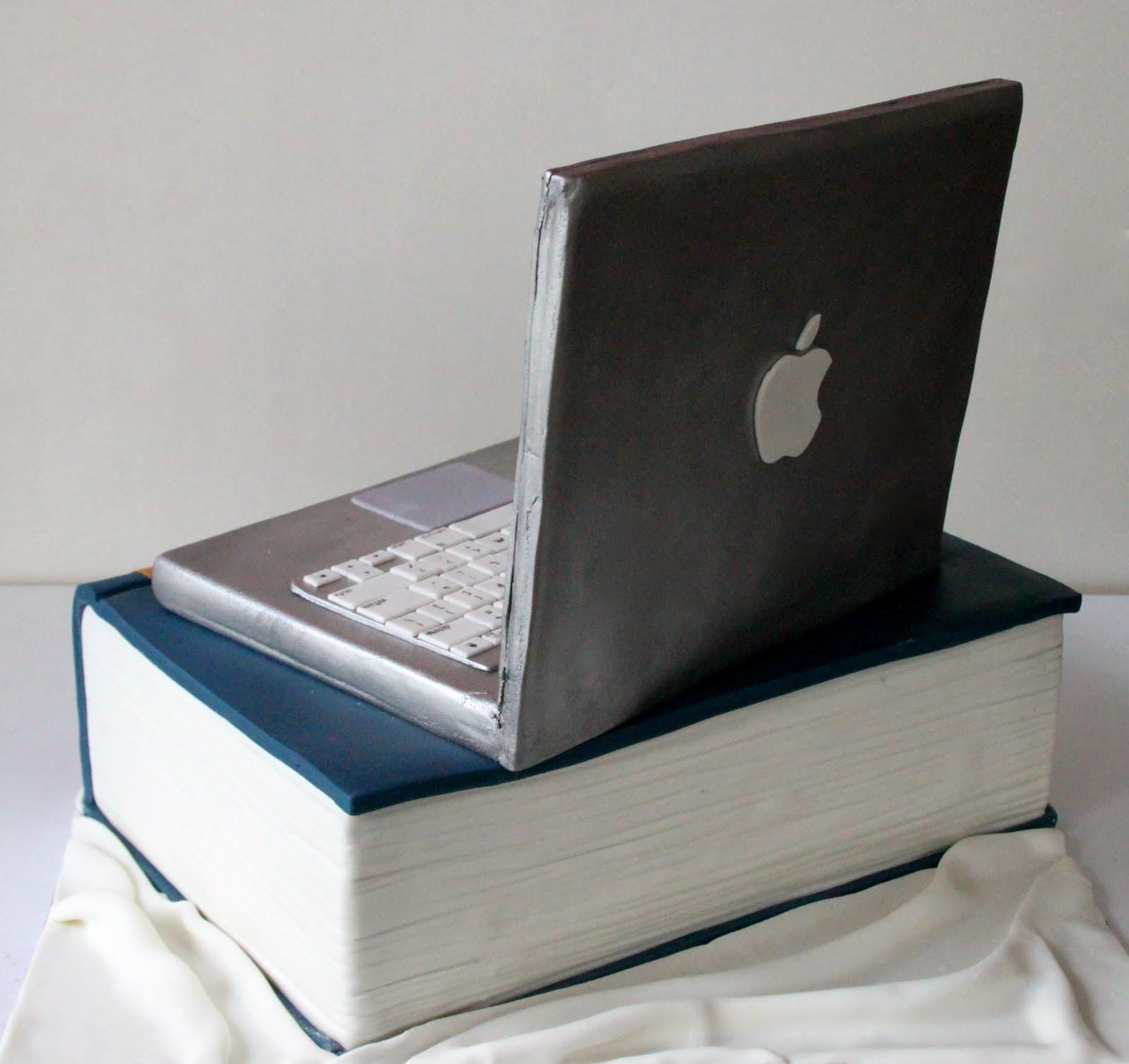 Celebrate with Cake!: MacBook Flight Manual Cake