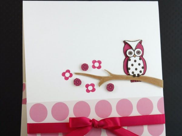 Sweet Owl Pocket Card