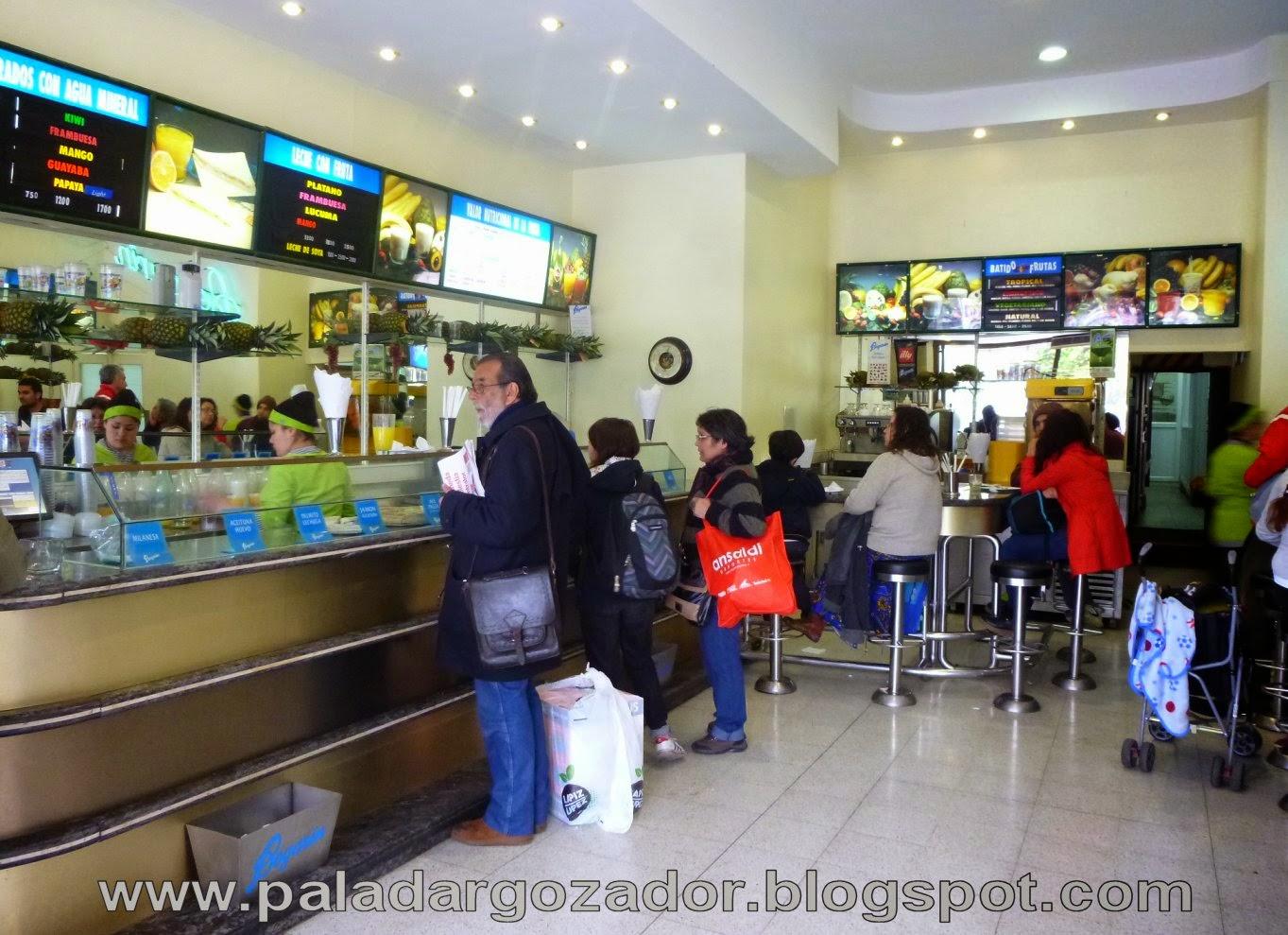 Bogarin Valparaiso interior local