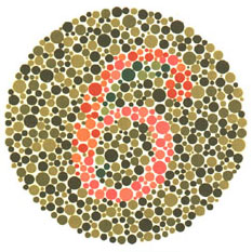 Prueba de daltonismo - Carta de Ishihara 3